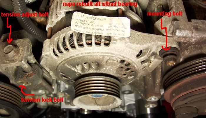Parts Alts They Generally Only Replace The Faulty Component And Clean It Up A Bit So This Rebuilt Alt Though Years Old