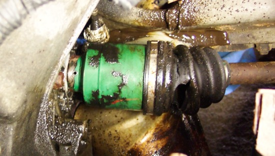 changing cv joint